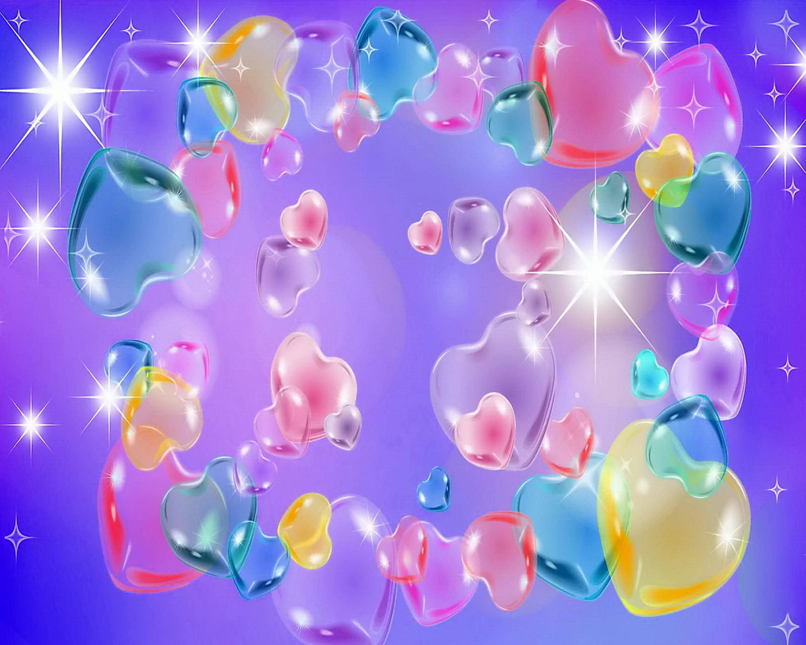 Hearts In Pastel