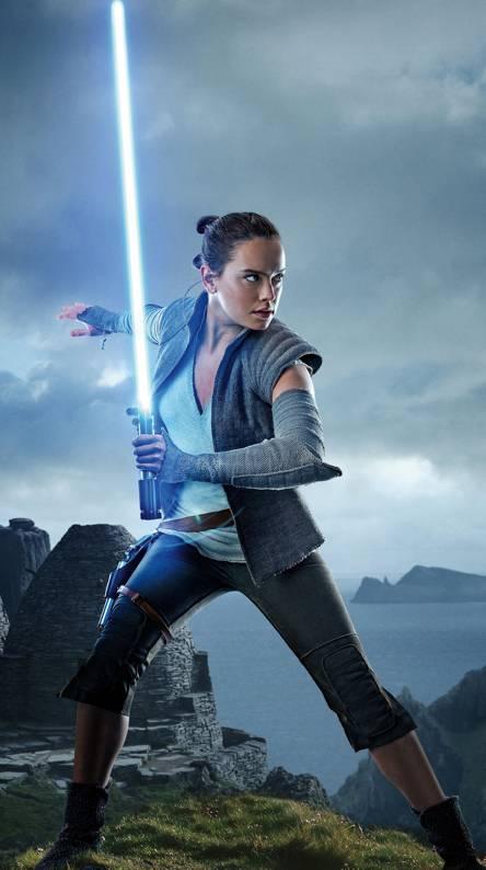 Rey Jedi Training
