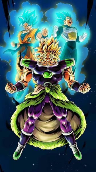 Goku Vegeta Broly