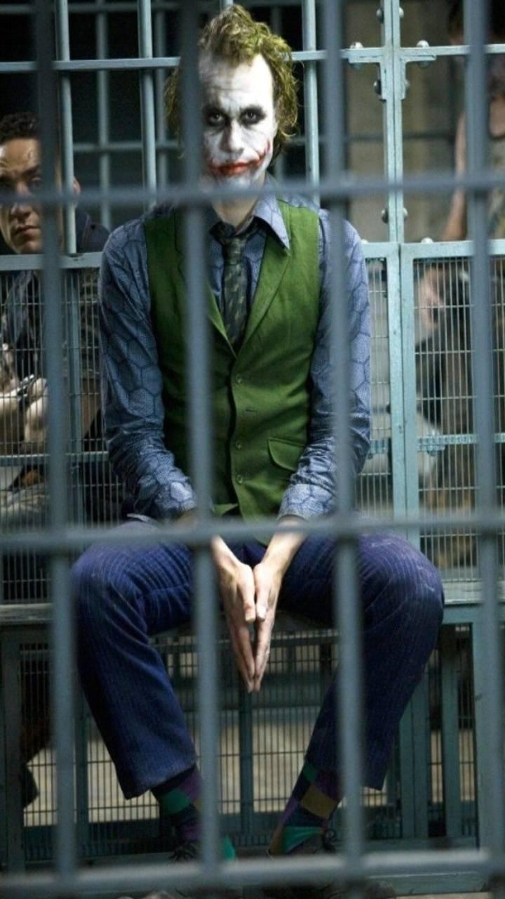 1080p Images: Joker In Jail Hd Wallpaper Download
