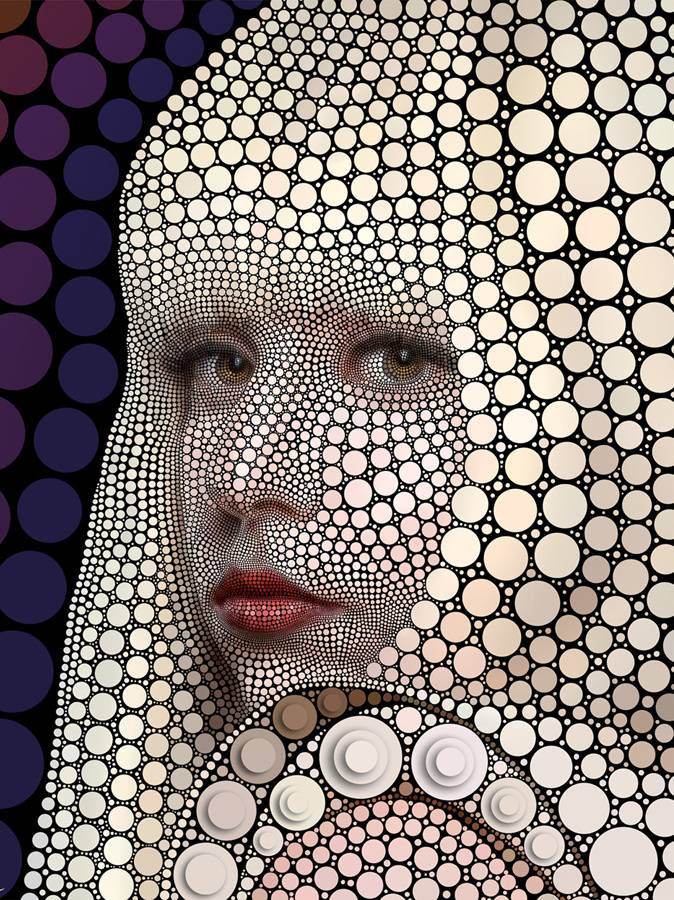 Gaga By Ben Heine