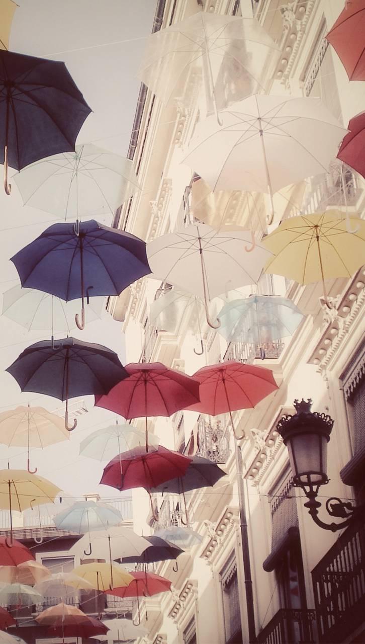 Hanged Umbrella