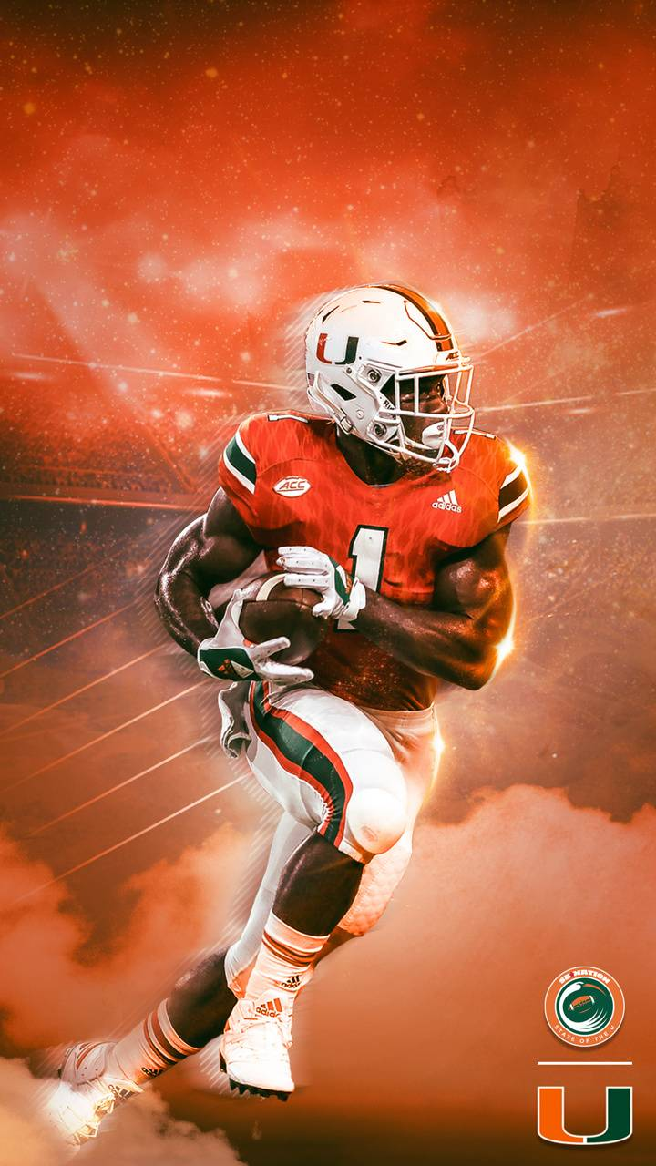 Miami Hurricanes wallpaper by TG133