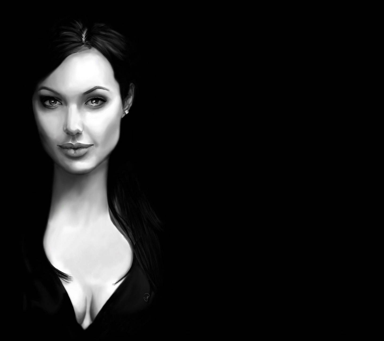 Angelina Jolie Black