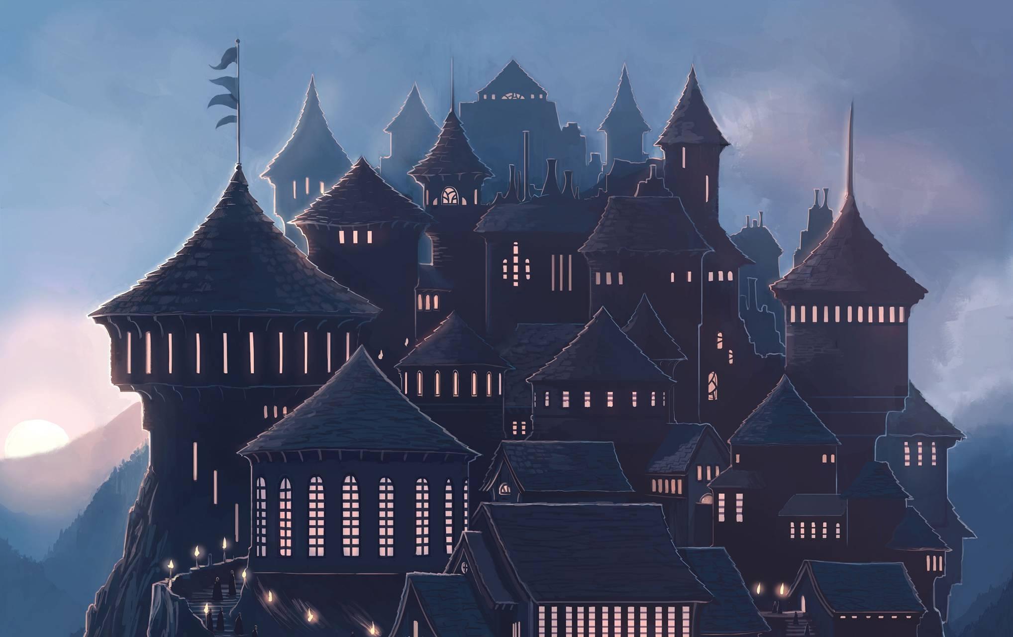 Hogwarts Art