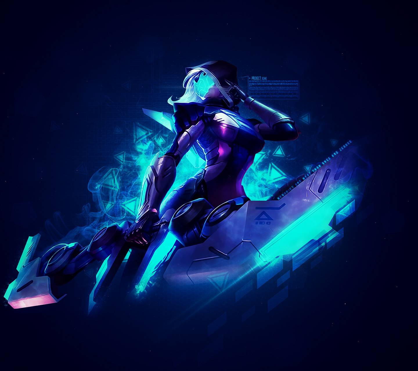 P R O J E C T Ashe Wallpaper By Krowely 4e Free On Zedge