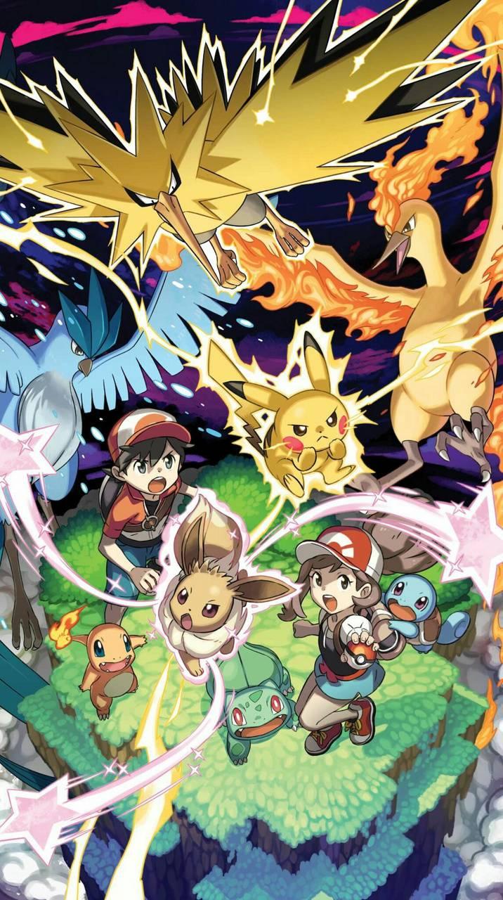 Pokemon Lets Go Eve