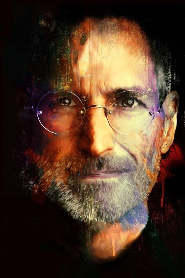 Stever Jobs Painting