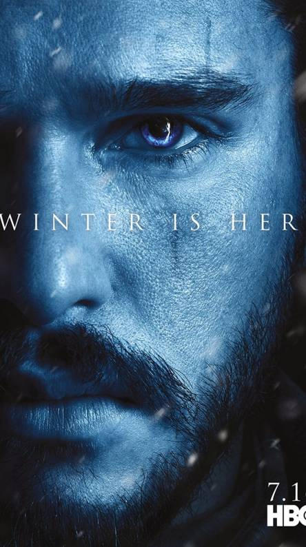 Jon Snow GOT Poster