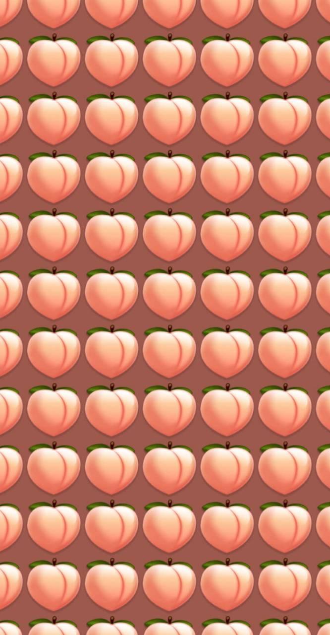 Emoji peach