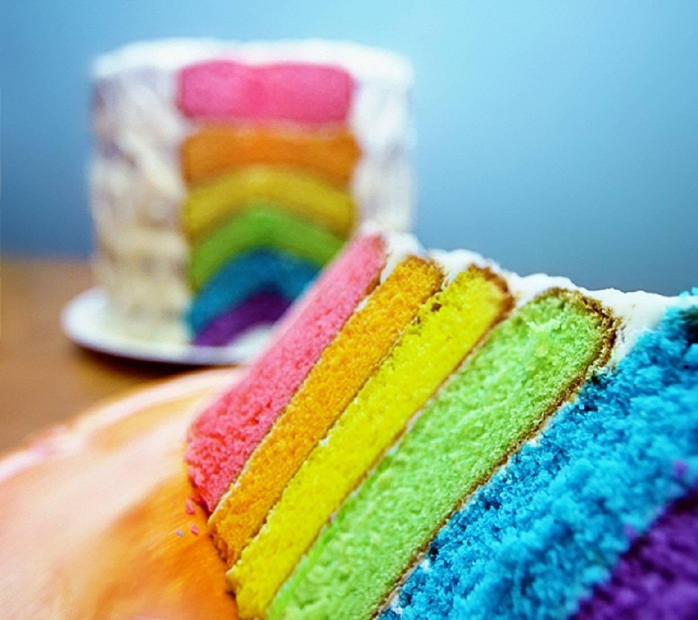 Multicolor Cake