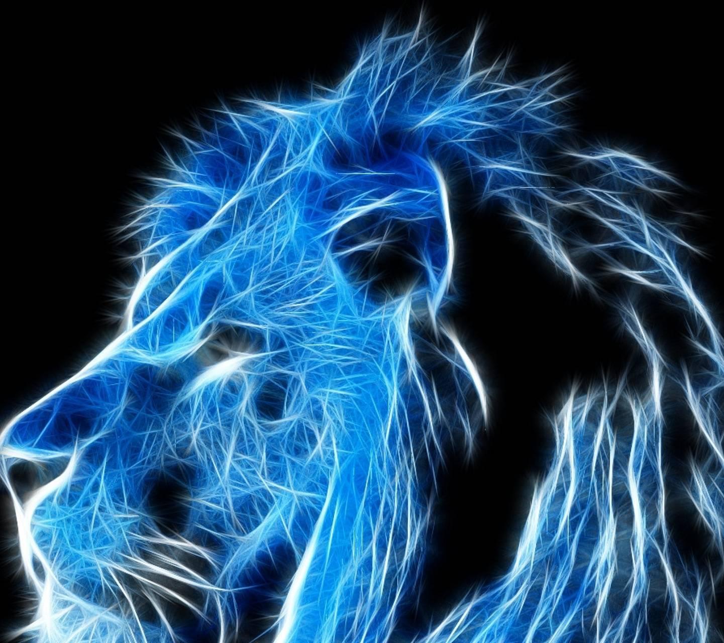 Blue lion fractal