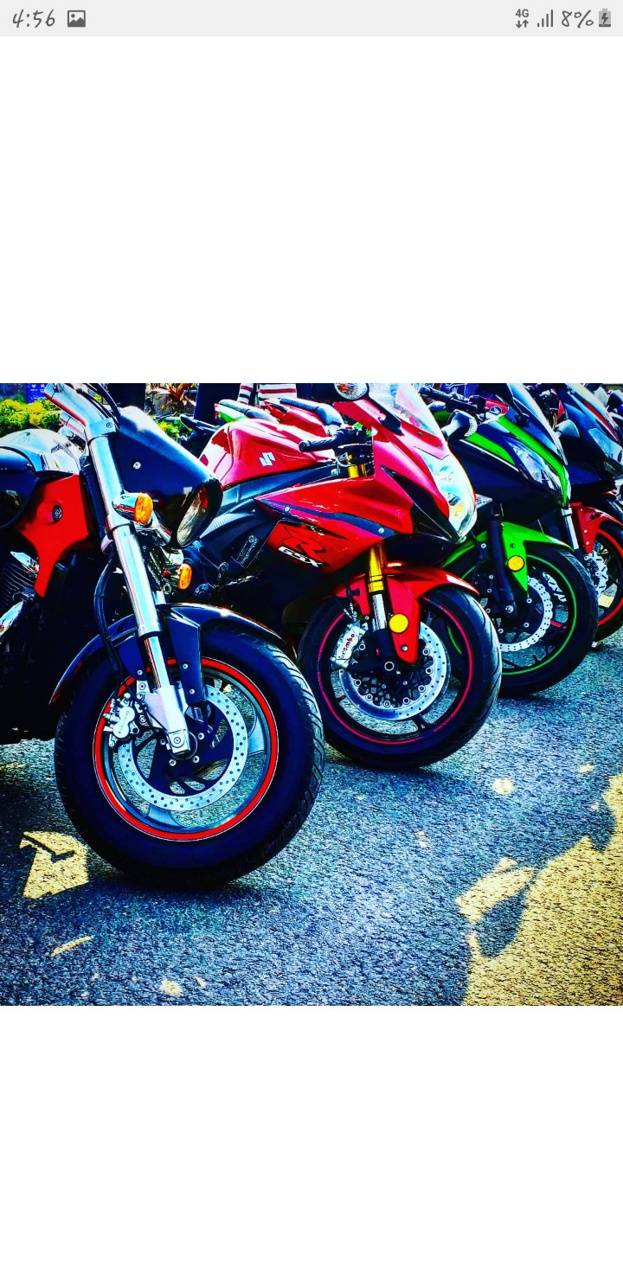 Collection of bikes