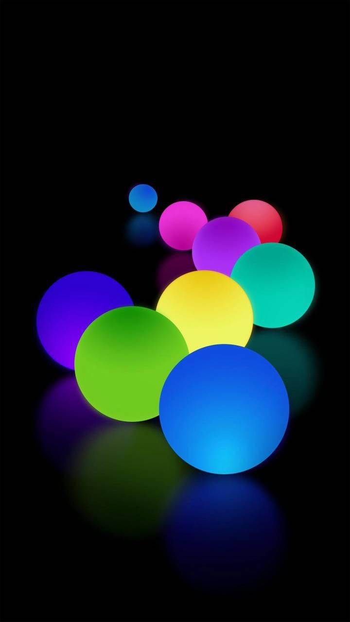 Note 9 colour balls