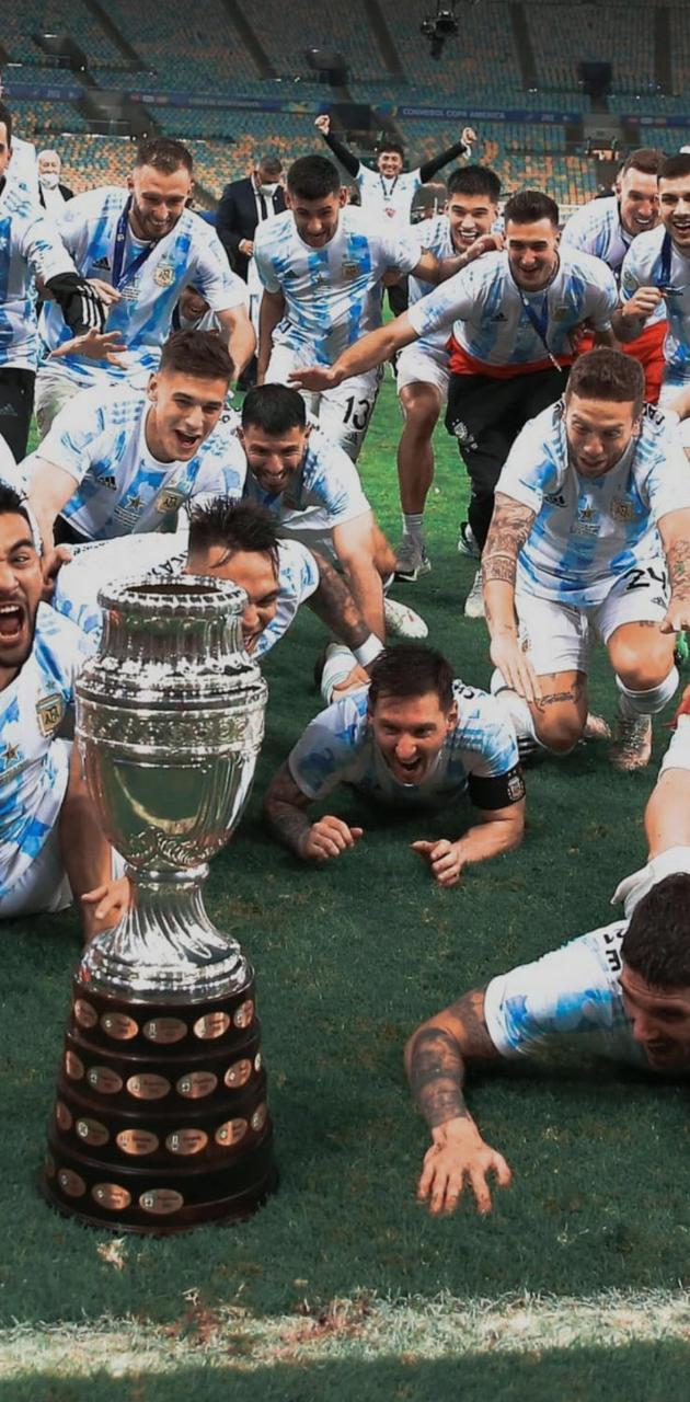 Messi grito campeon