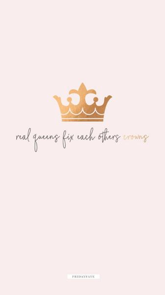 Crowns for queens