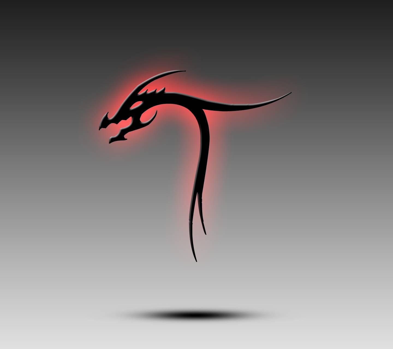 Dragon Alphabet T