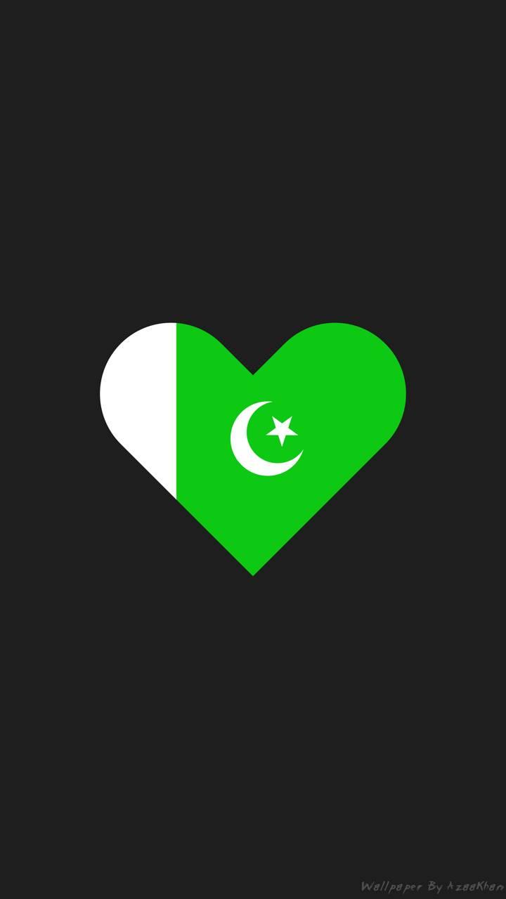 Pakistan Flag Heart