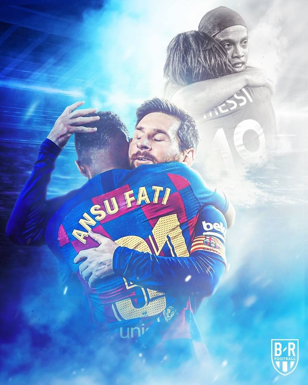 Messi Fati Wallpaper By Harshiludani 11 Free On Zedge