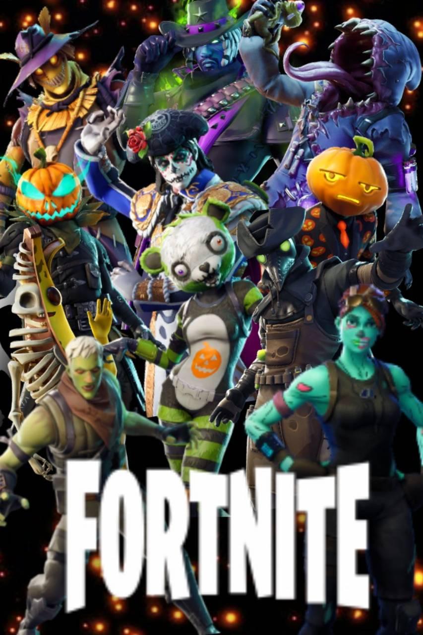 Fortnite Halloween Wallpaper By Etherealbeauty 4e Free On Zedge