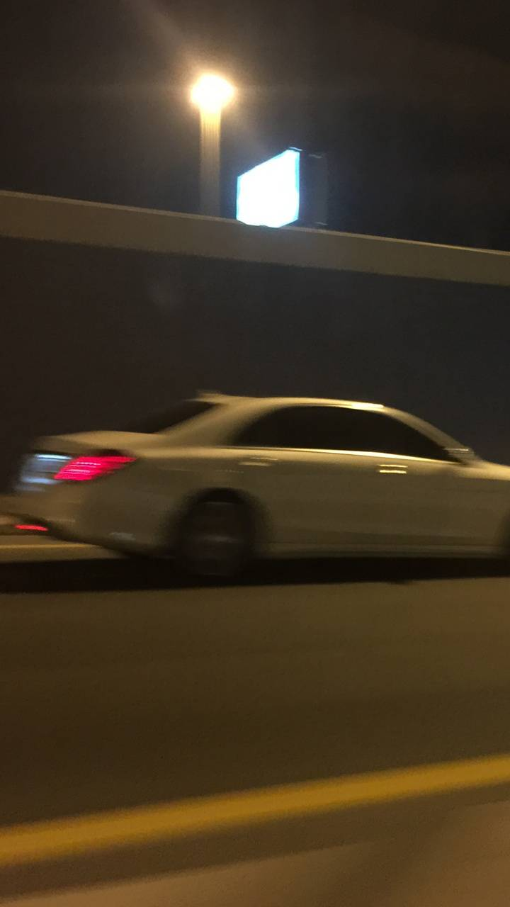 S-Class in motion