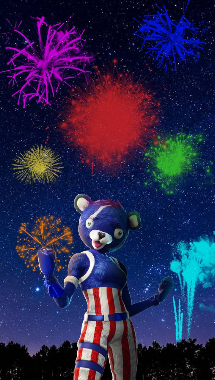 Firework Bear Wallpaper By Kersten770 59 Free On Zedge