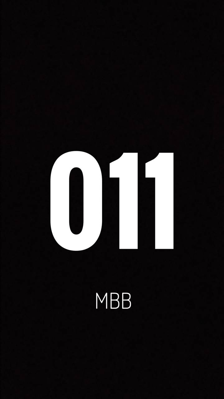 11 MBB black