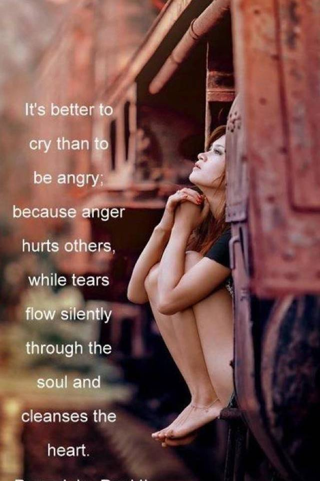 Its better to CRY