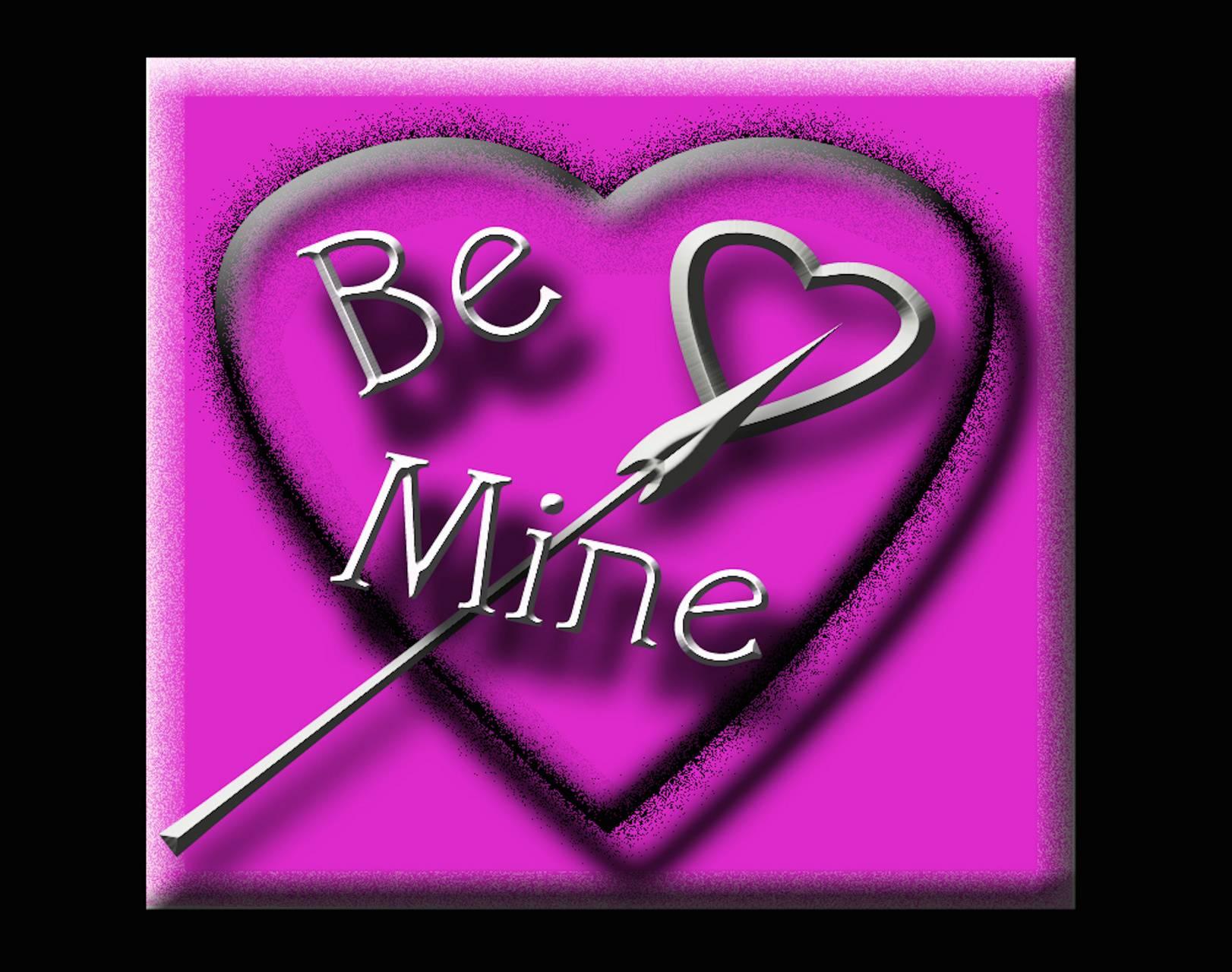 Be Mine Heart Arrow