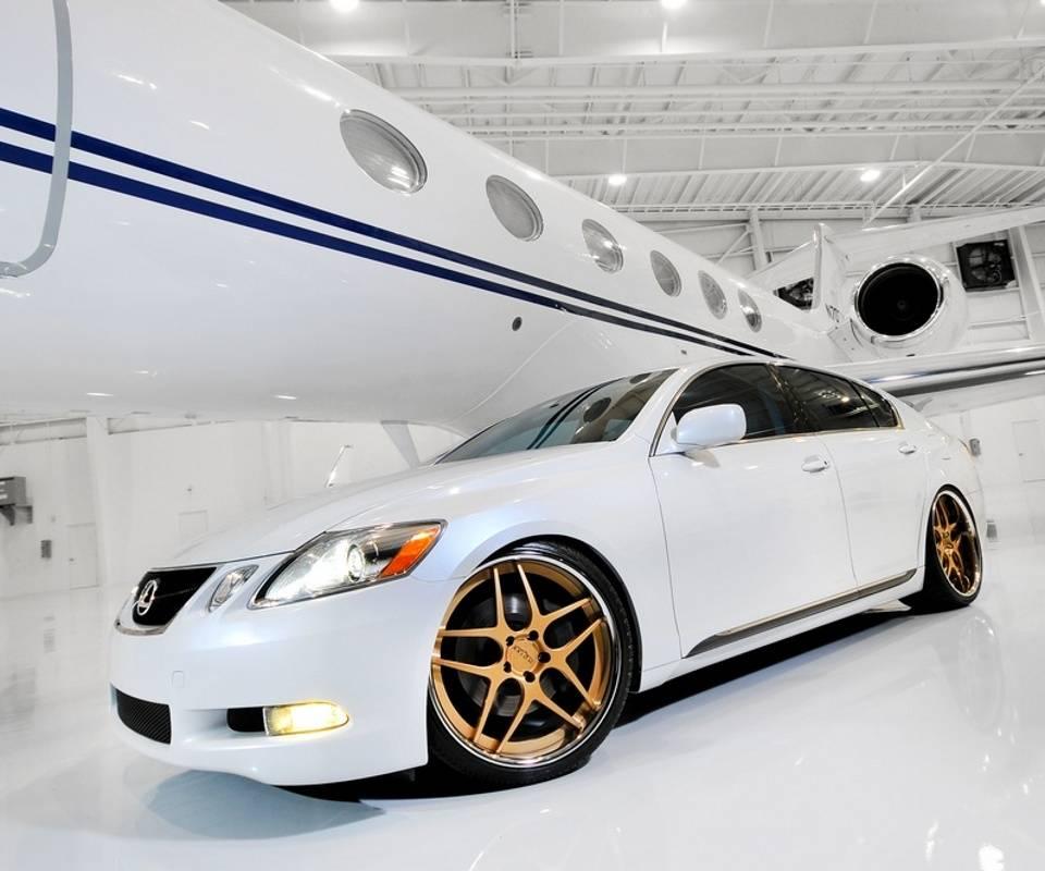 White Lexus