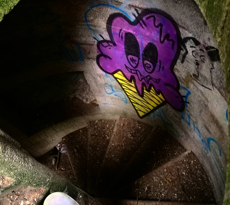 Ice cream graffiti