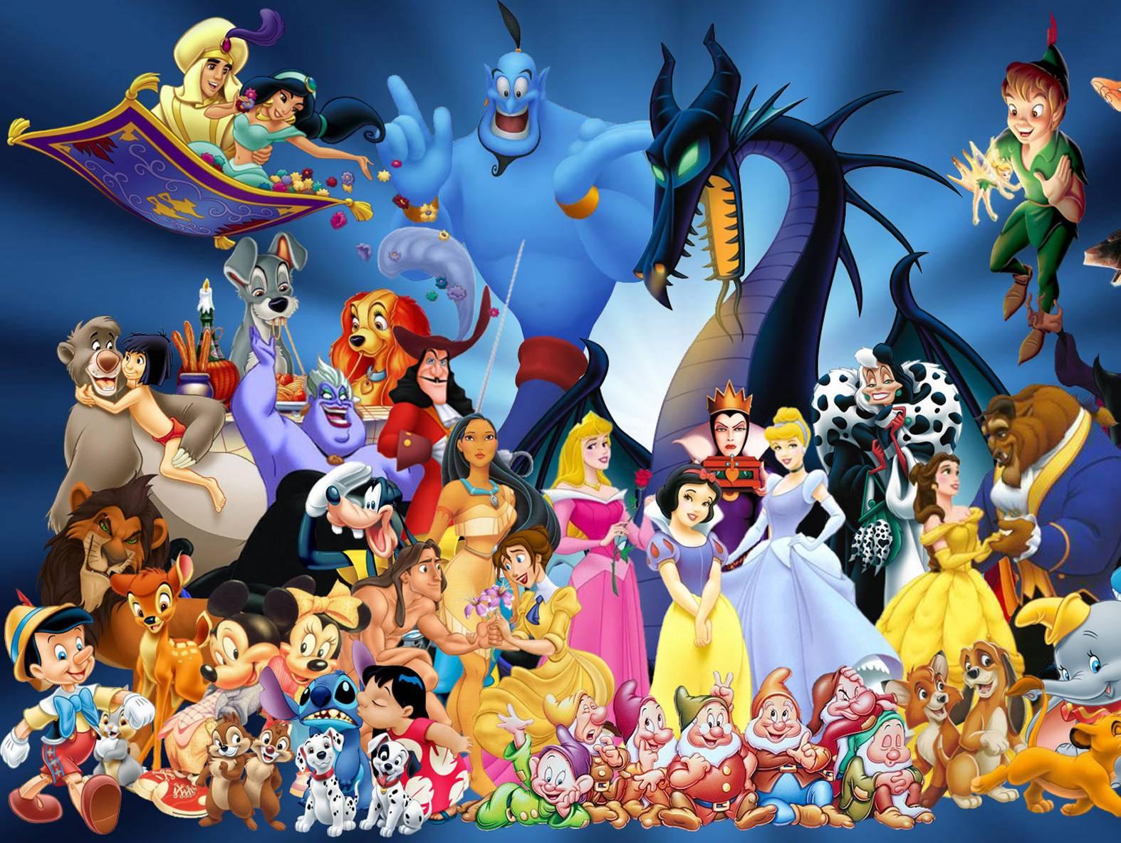 Фото всех диснеевских персонажей