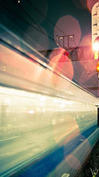 Railway night light