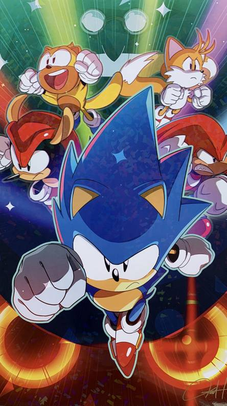 Team Sonic Wallpapers Free By Zedge