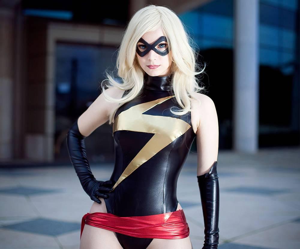 Miss marvel cosplay