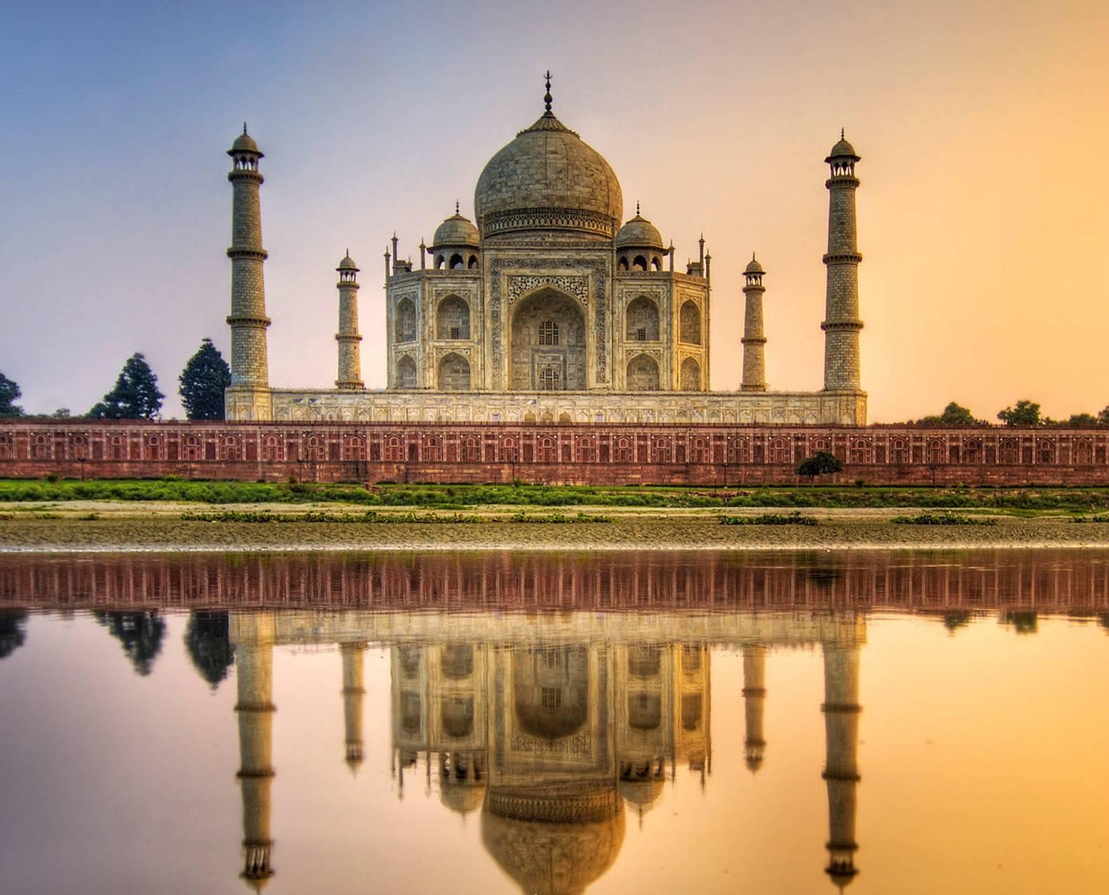 Taj Mahal 4k
