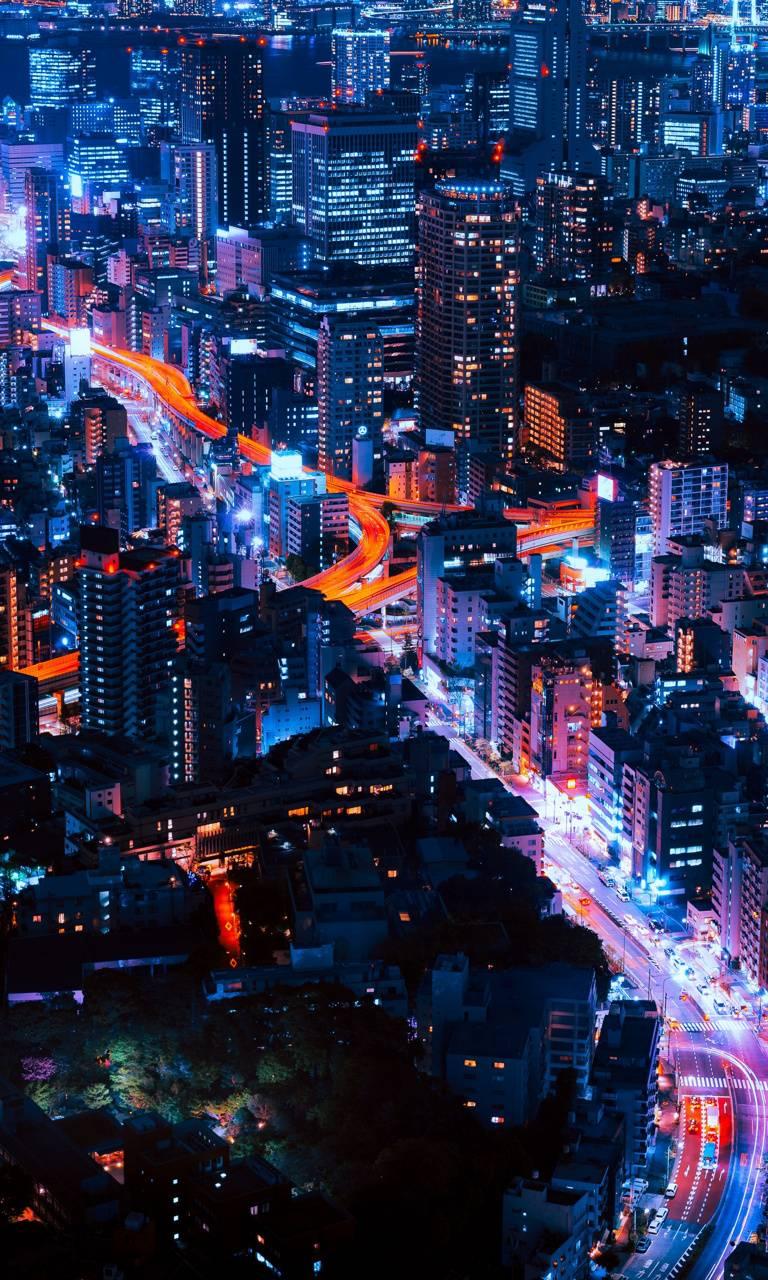 Neon City lights wallpaper by BhappydeaR__ - a4 - Free on ...