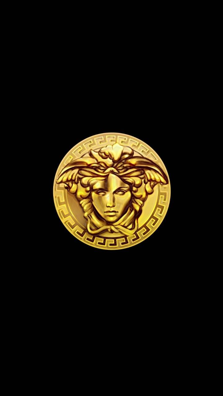 Versace Medusa Gold