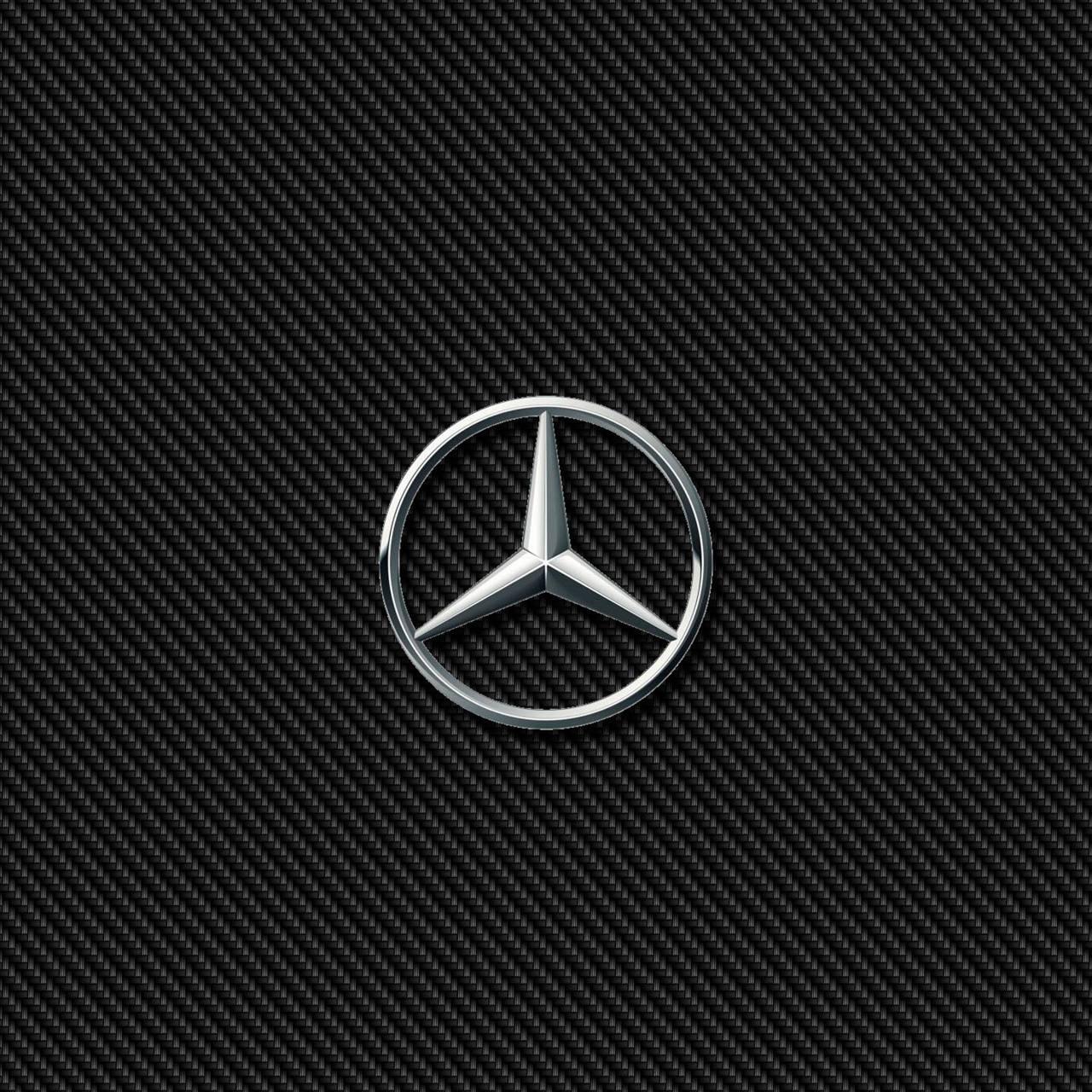 Mercedes Star Carbon