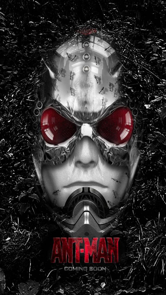 Ant-Man Movie Cover