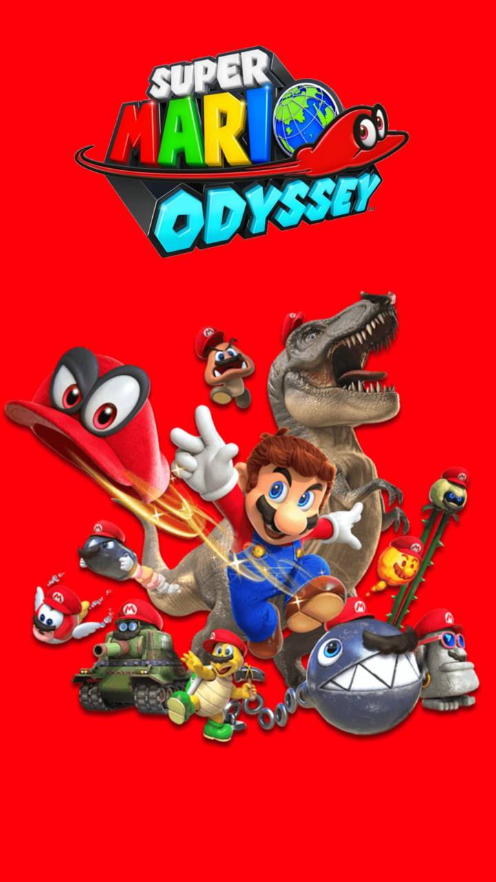 Mario Odyssey Wallpaper By Jaydonplayz 69 Free On Zedge