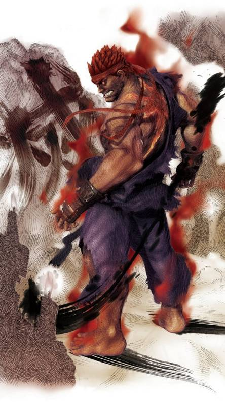 Evil Ryu Wallpaper Iphone