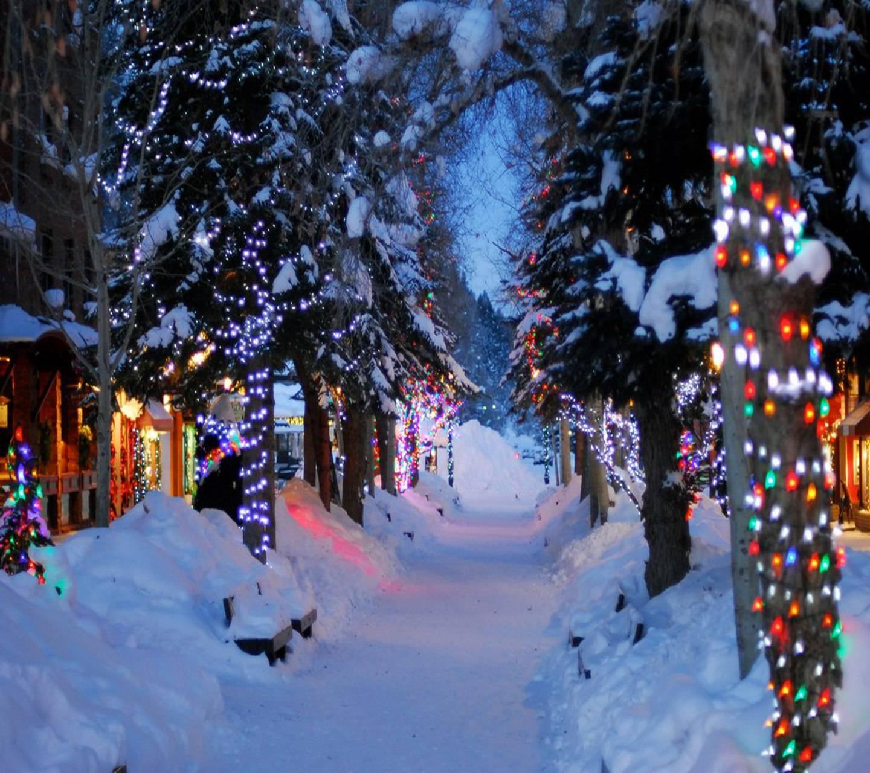 christmas path