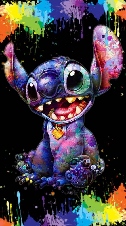 Stitch color splash