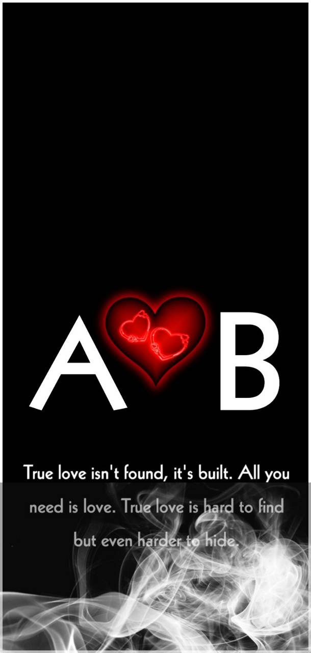 A Love B Name Wallpaper By Mraheelshahiawan 5c Free On Zedge