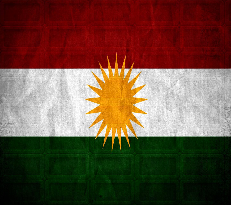Kurdistan Flag Wall
