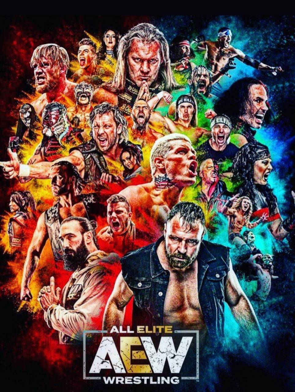 All Elite Wrestling Wallpaper By Thespawner97 23 Free On Zedge
