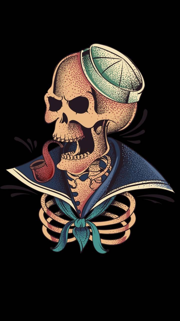 Sailor skeleton