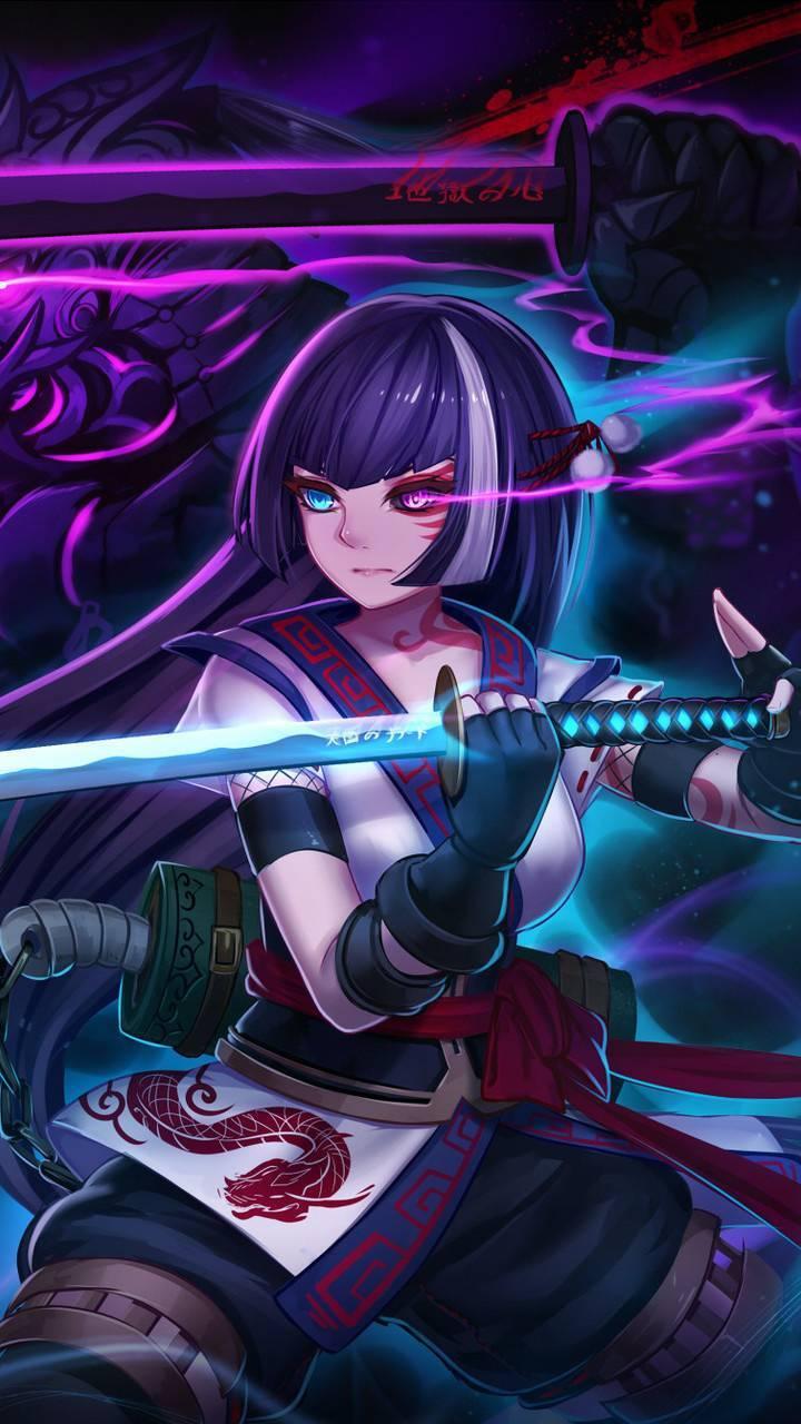 Anime Ninja Girl Wallpaper By Andrewscottkennedy A0 Free On Zedge