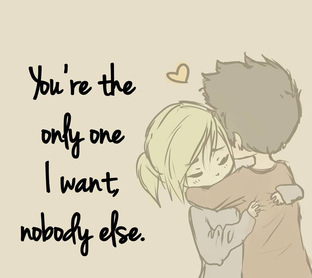 your the only one